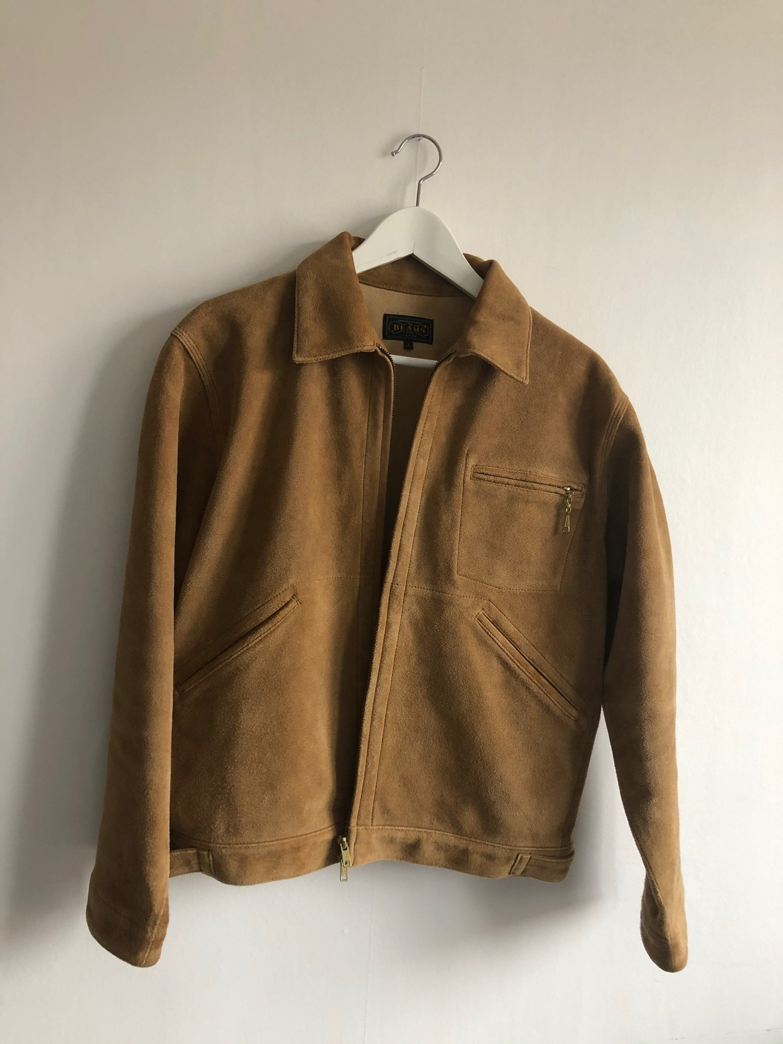 Beams Plus Suede Jacket Japan / Mockajacka +