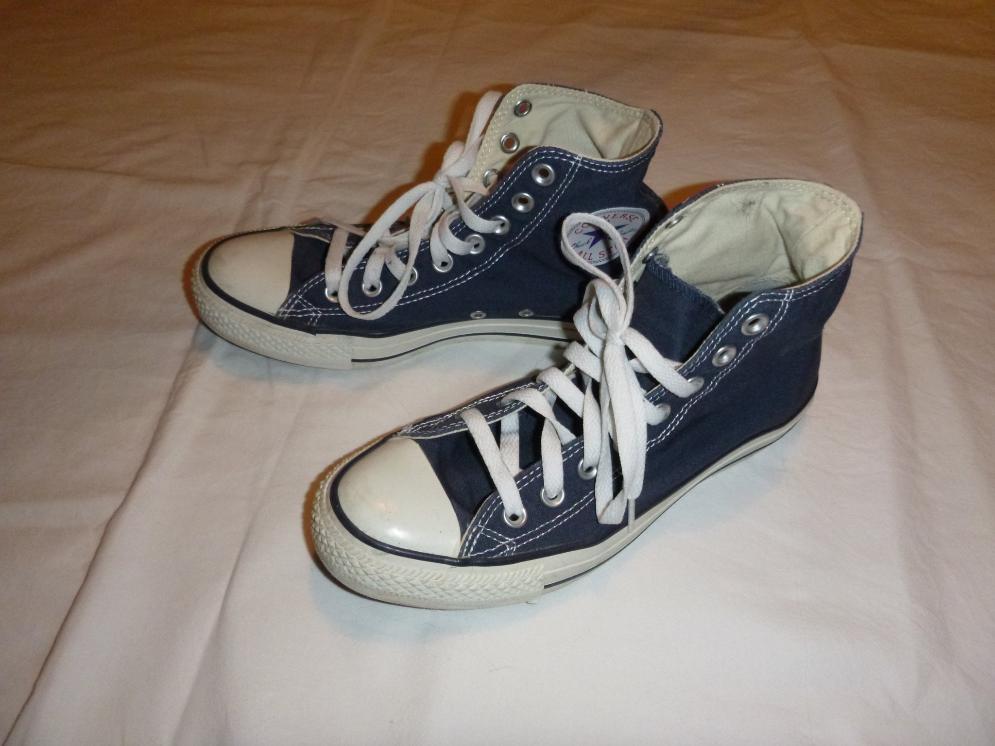 san francisco 6653e 76459 Converse skor (Chuck Taylor All Star High) 6,5 8,5