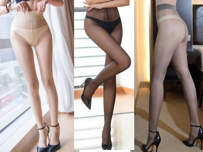 mode erkända varumärken köp populärt Strumpbyxor glossy 3 pack 3 olika färger nylons.. (360278783) ᐈ ...