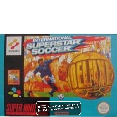 INTERNATIONAL SUPERSTAR SOCCER DELUXE ISS till Super Nintendo SNES