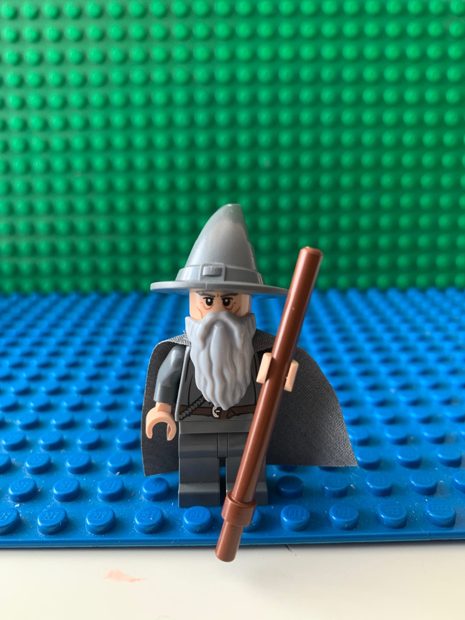 Lego Minifigur Lord of the Rings Gandalf