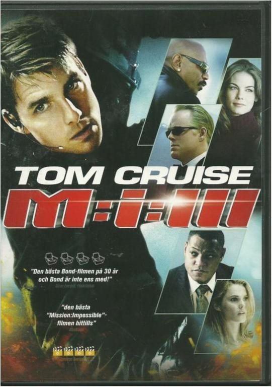 Mission Impossible 3 - Tom Cruise/Ving Rames - Ny