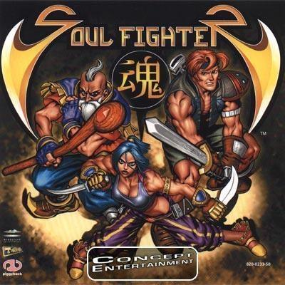 SOUL FIGHTER (komplett) till Sega Dreamcast