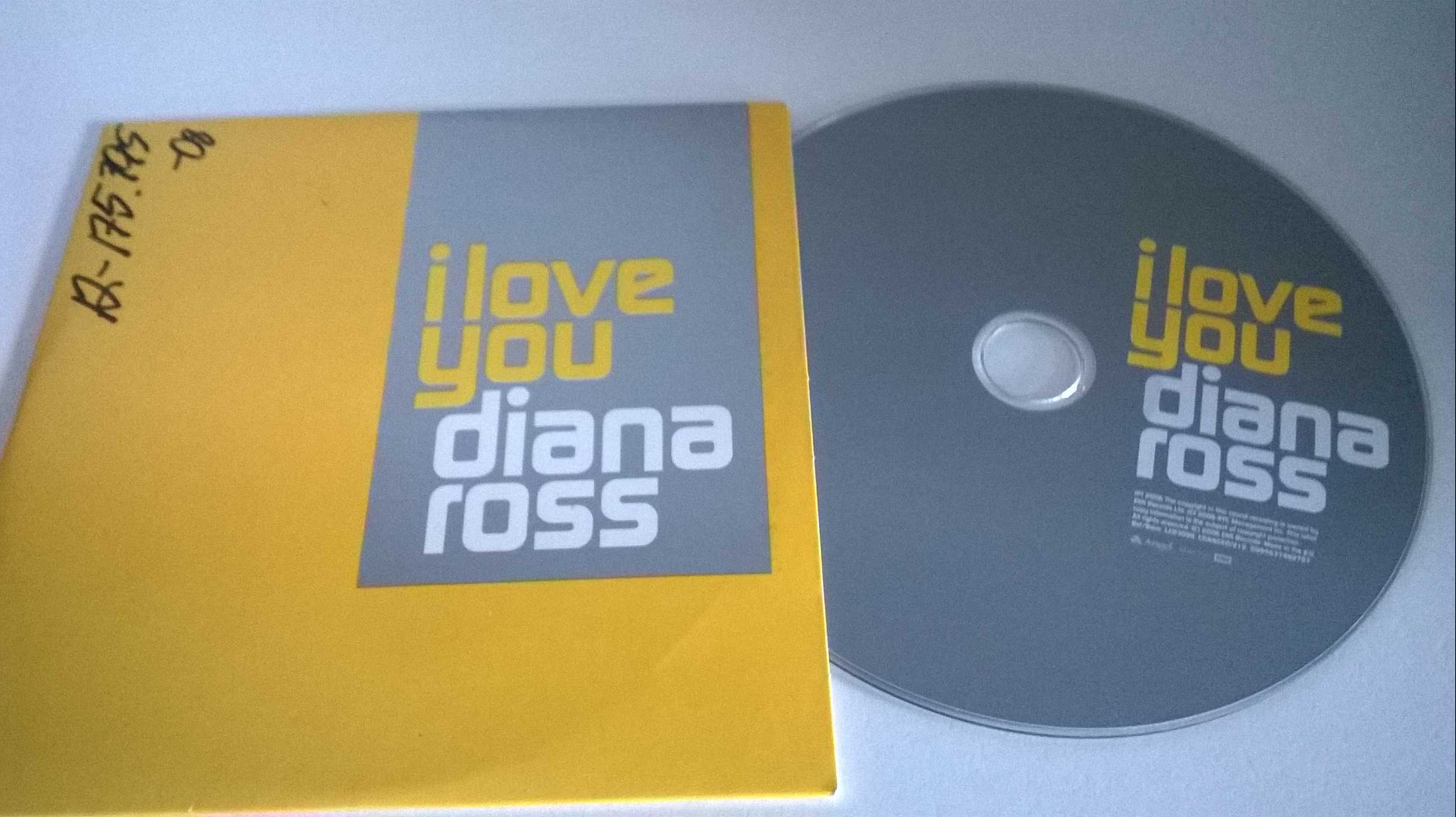 Diana Ross - I love you, single CD