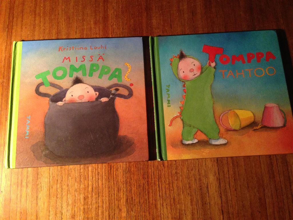 Tomppa (Barnböcker på Finska) på Tradera com Småbarnsböcker Barn
