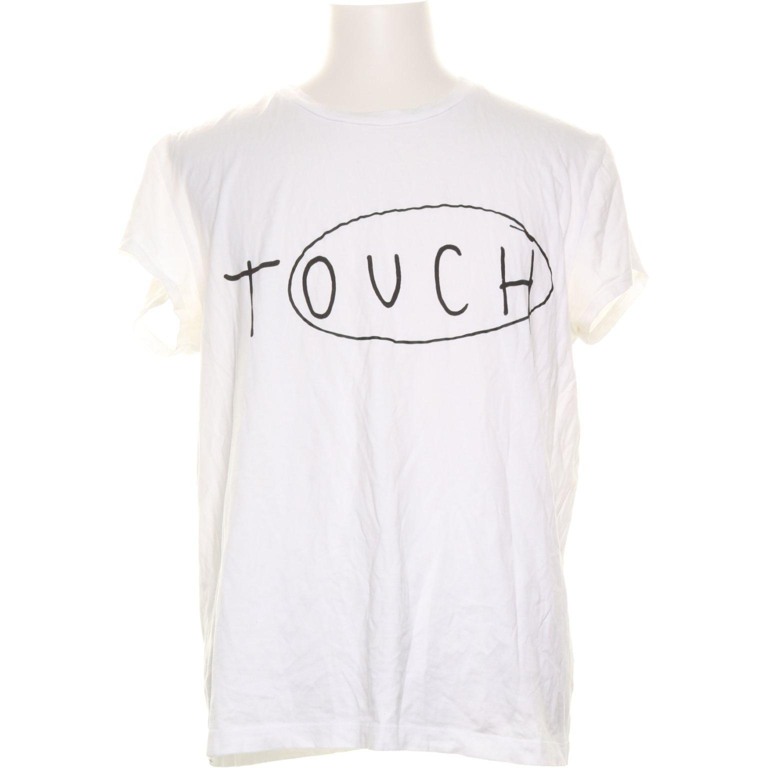 Acne Studios, T-shirt, Strl: L, Vit/Svart
