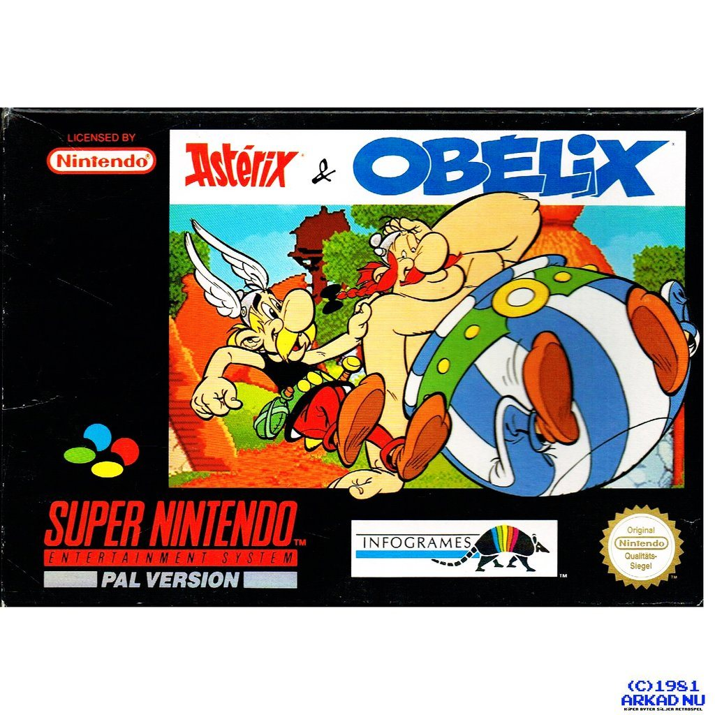 asterix and obelix snes