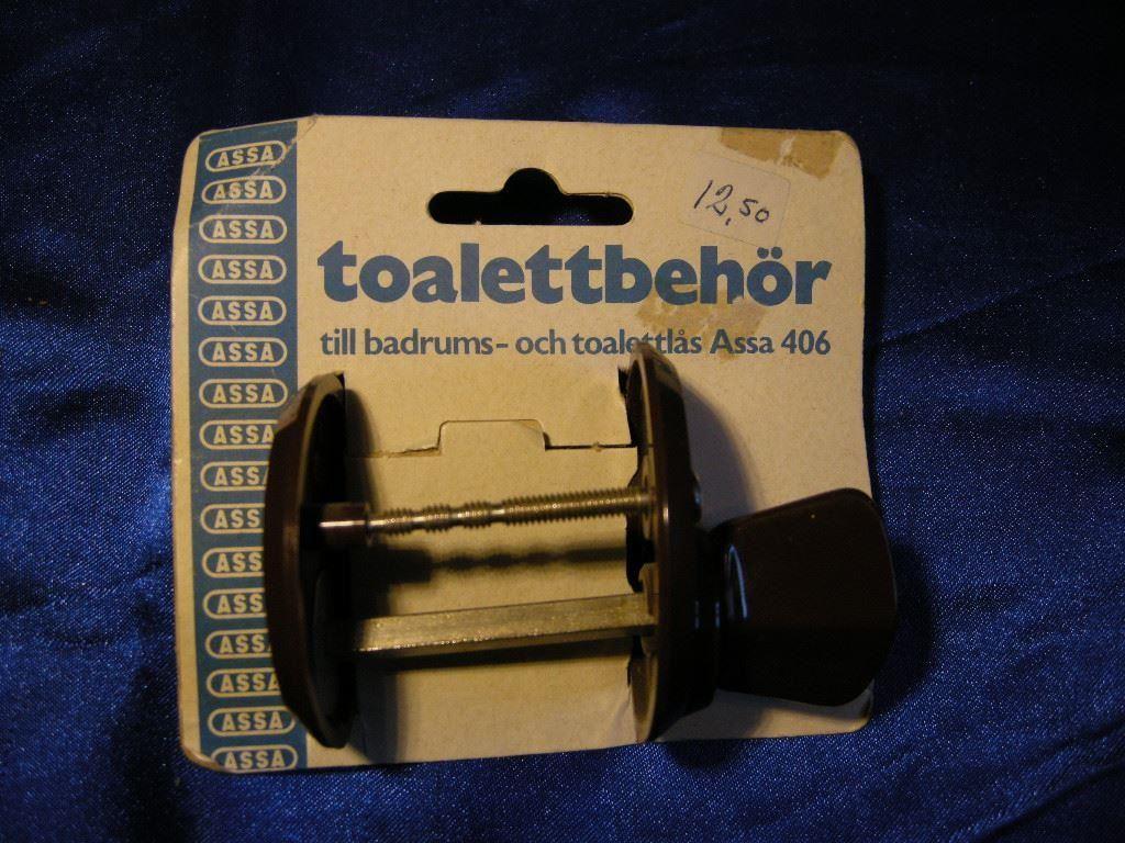 Toalettvred, lås till toalett/ badrum. assa 406. retro på tradera ...