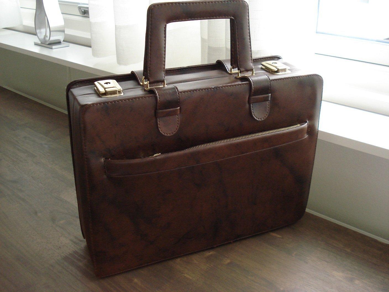 Retro vintage röd större sminkväska beautybox makeup väska