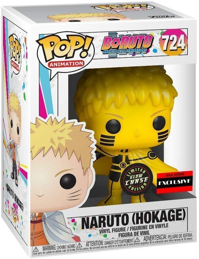 Funko PoP! - Boruto: Next Generation - Naruto (Hokage) Chase GitD -AAA Exclusive