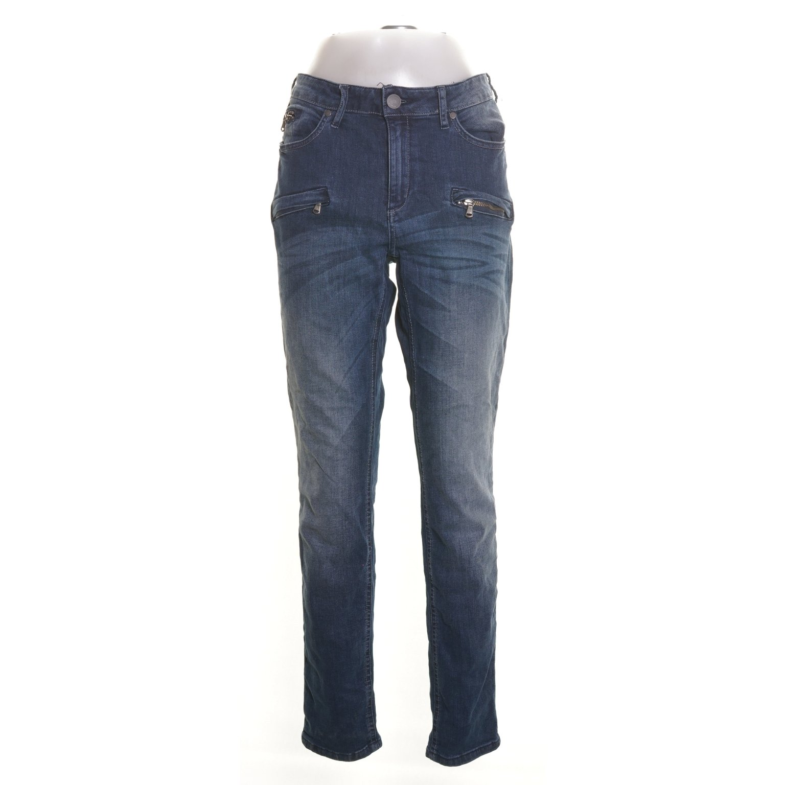 Denim By Lindex, Jeans, Strl: 48, Blå