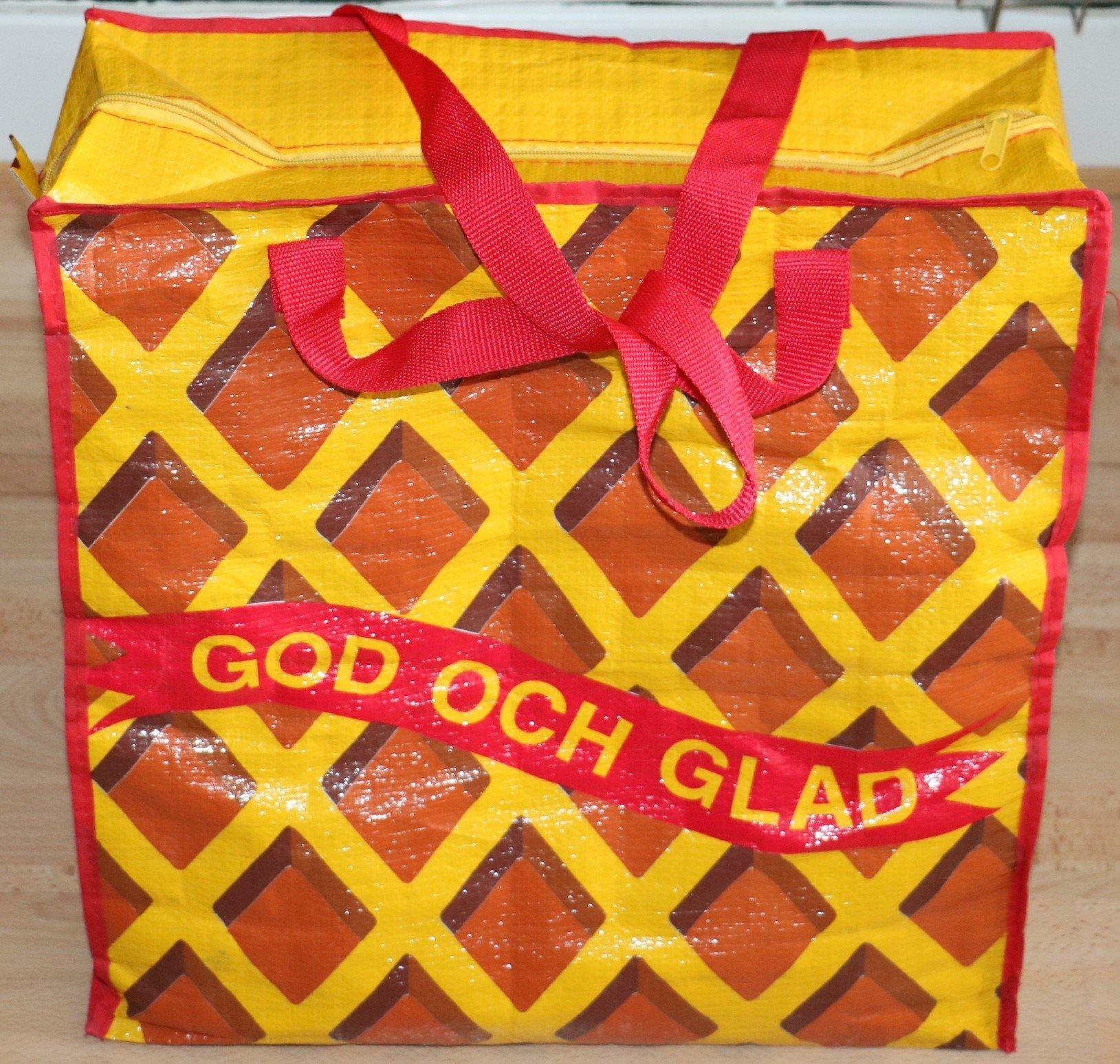 Reklam väskakasse Cloetta Kexchoklad 45 * 45 * 18 cm.