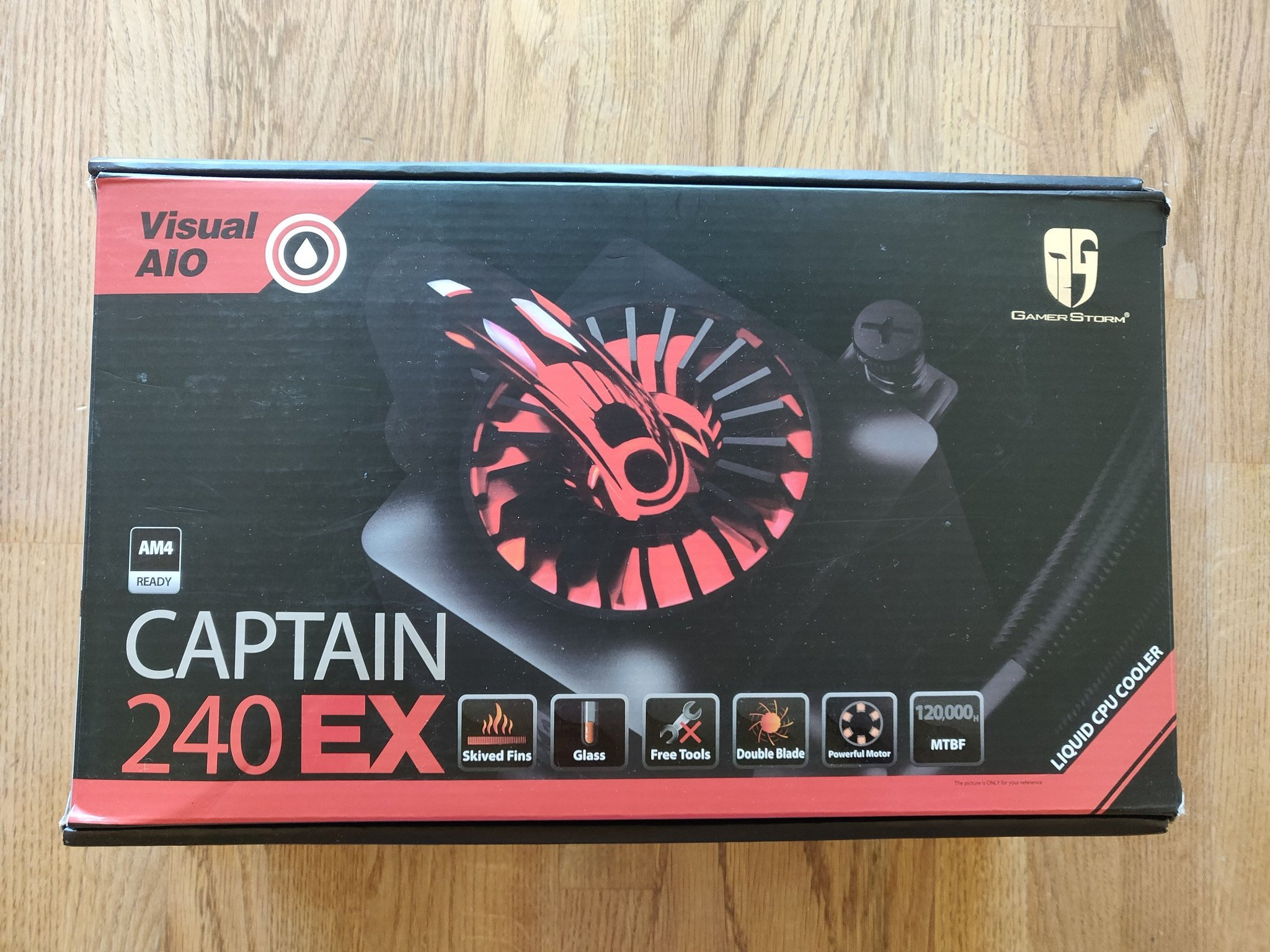 CPU Vattenkylning Deepcool Captain 240 EX
