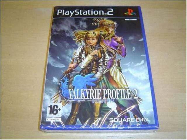 VALKYRIE PROFILE 2 SILMERIA SONY PLAYSTATION 2 PS2 PAL *NYTT*
