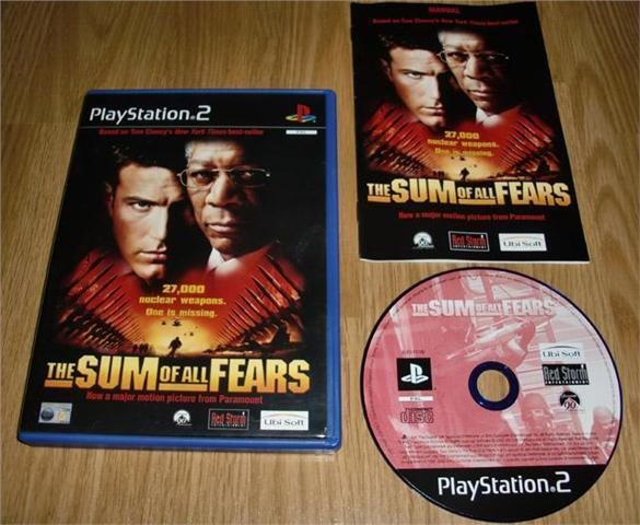 PS2: Sum of all Fears