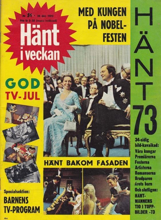 Hänt Hänt Hänt 1973-51 ABBA Agnetha Björn..Saltkråkan..Nobel Festen 700e03