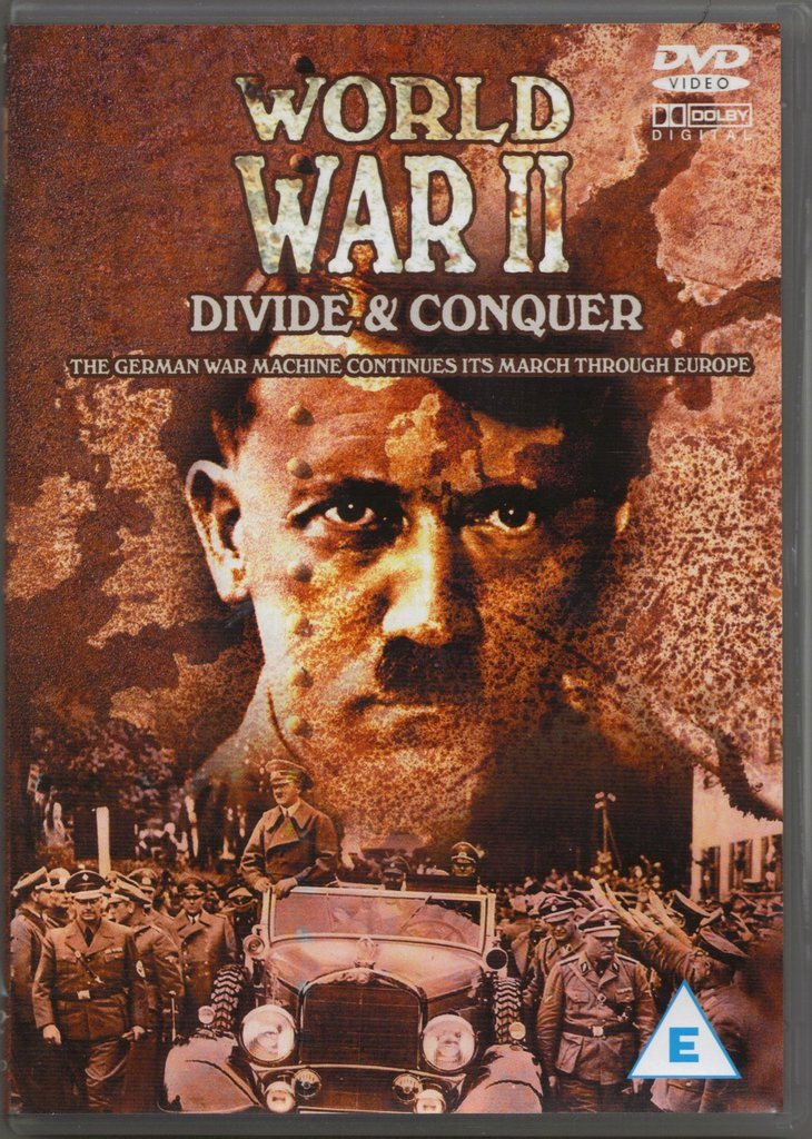 WORLD WAR II - Divide & Conquer  -  DVD