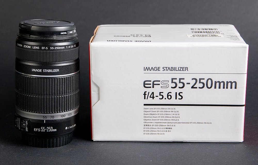 Canon EFS 55-250 mm f/4-5.6 IS