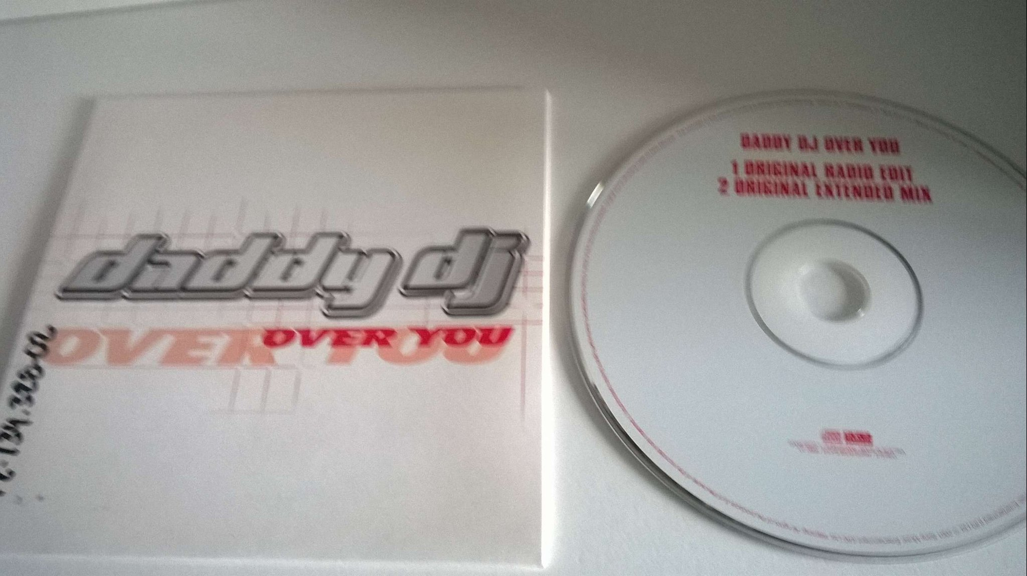 Daddy Dj - Over you, single CD