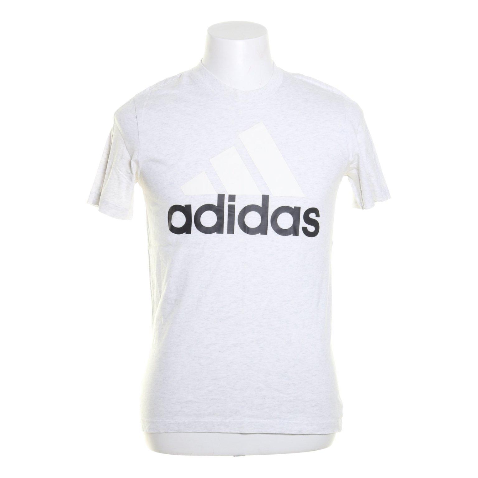 Adidas, T shirt, Strl: S, Vit