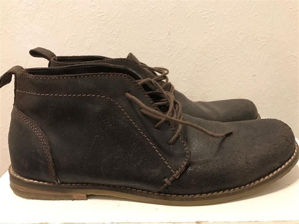 414c1b9c18f Bruna mocka skinn boots storlek 42. (345878774) ᐈ Köp på Tradera