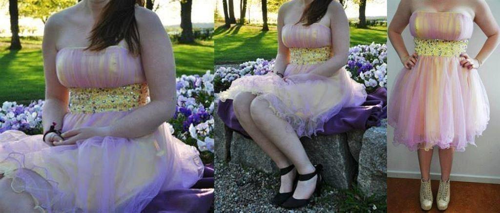 Unik princessquinceanerapuffig klänning. Stor.. (344159239