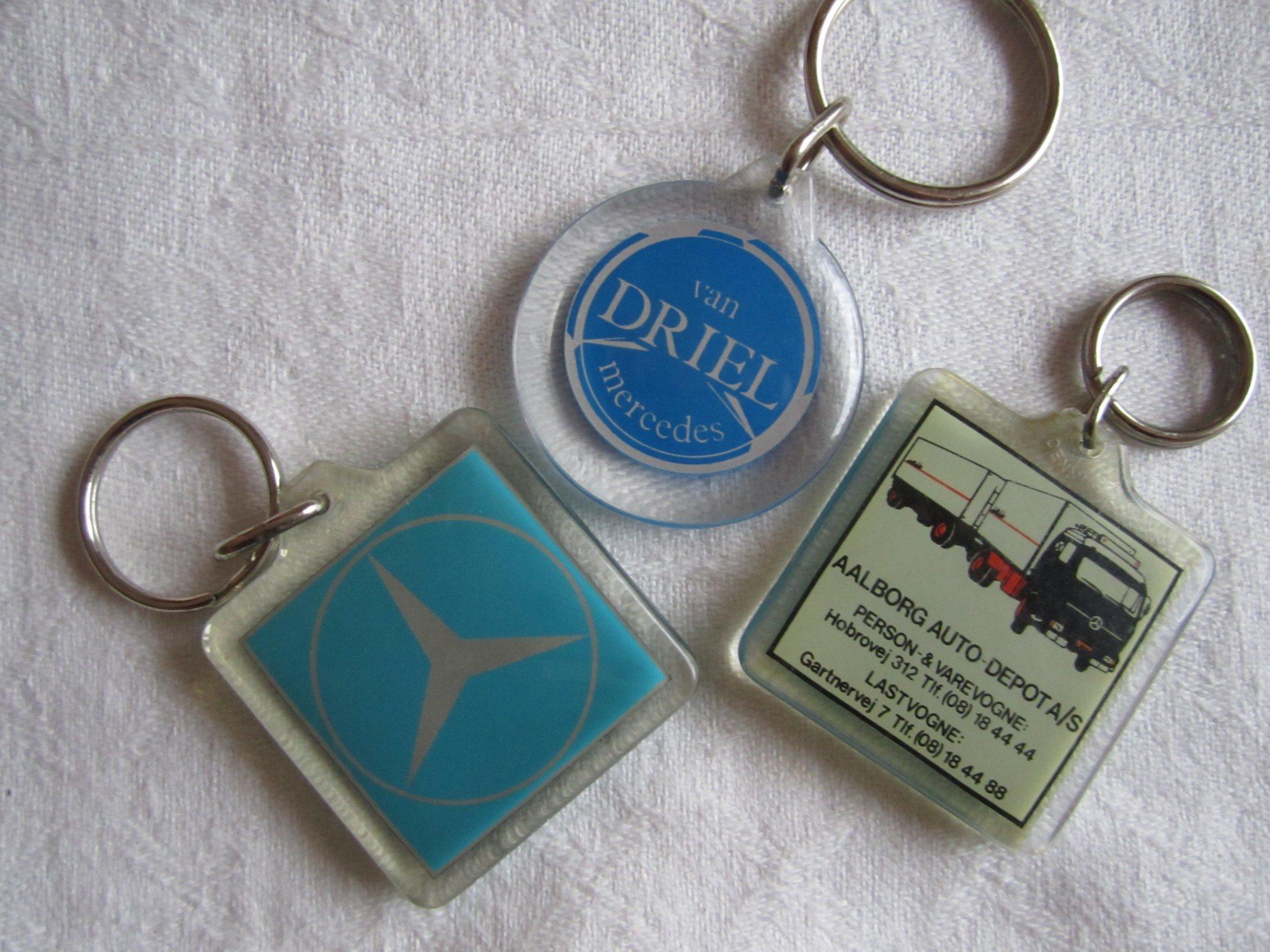 3 x Nyckelring. Mercedes (340484090) ᐈ Köp på Tradera f05199e3521fb
