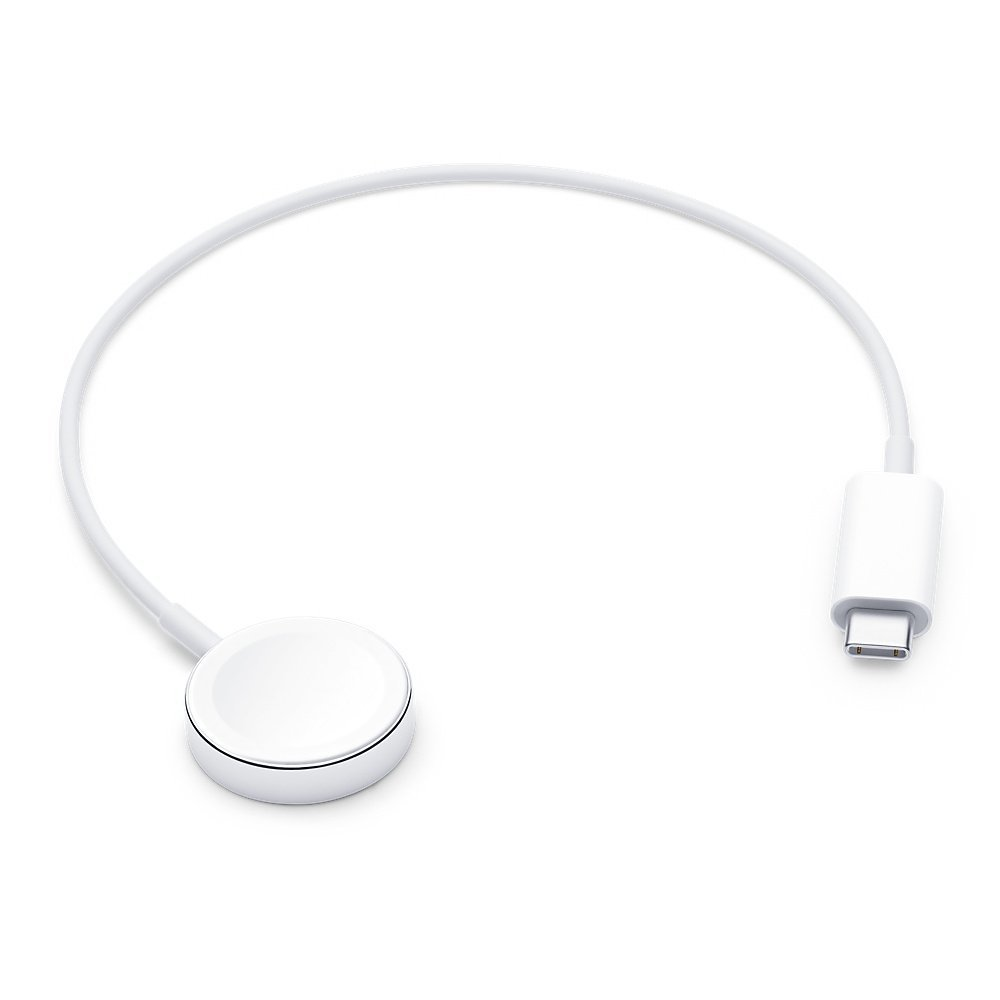 Apple Watch magnetisk USB C laddare (vit)