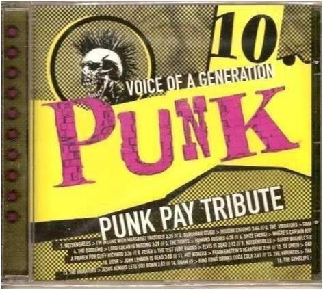 Punk/Voice of a generation Vol. 10 -Punk pay tribute - Ny