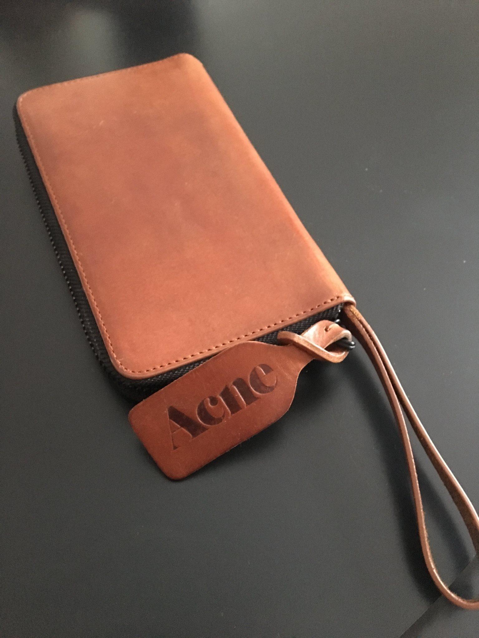 acne plånbok dam