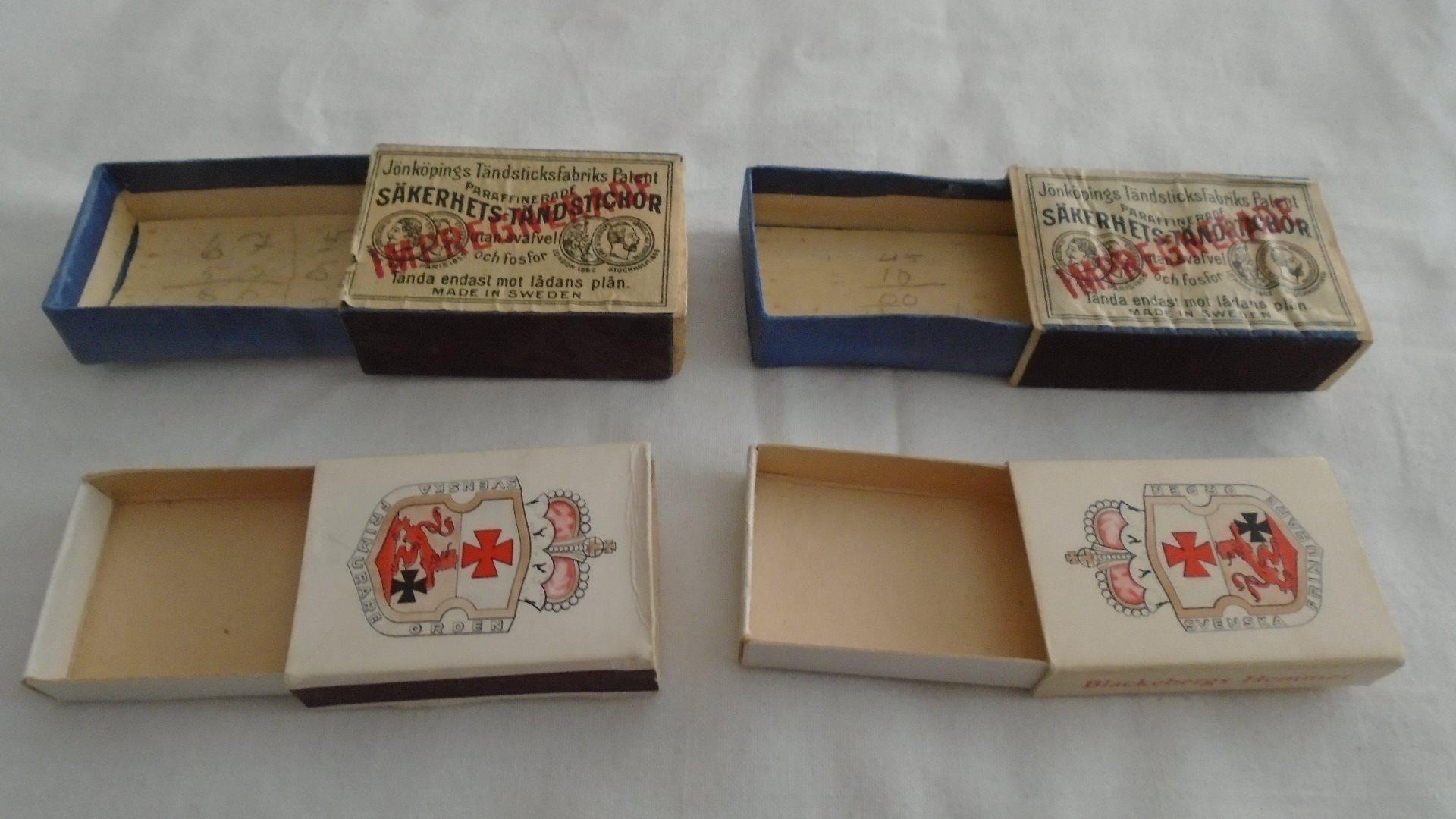Tändsticksaskar (311306248) ᐈ Köp på Tradera 21cd12e37a18d