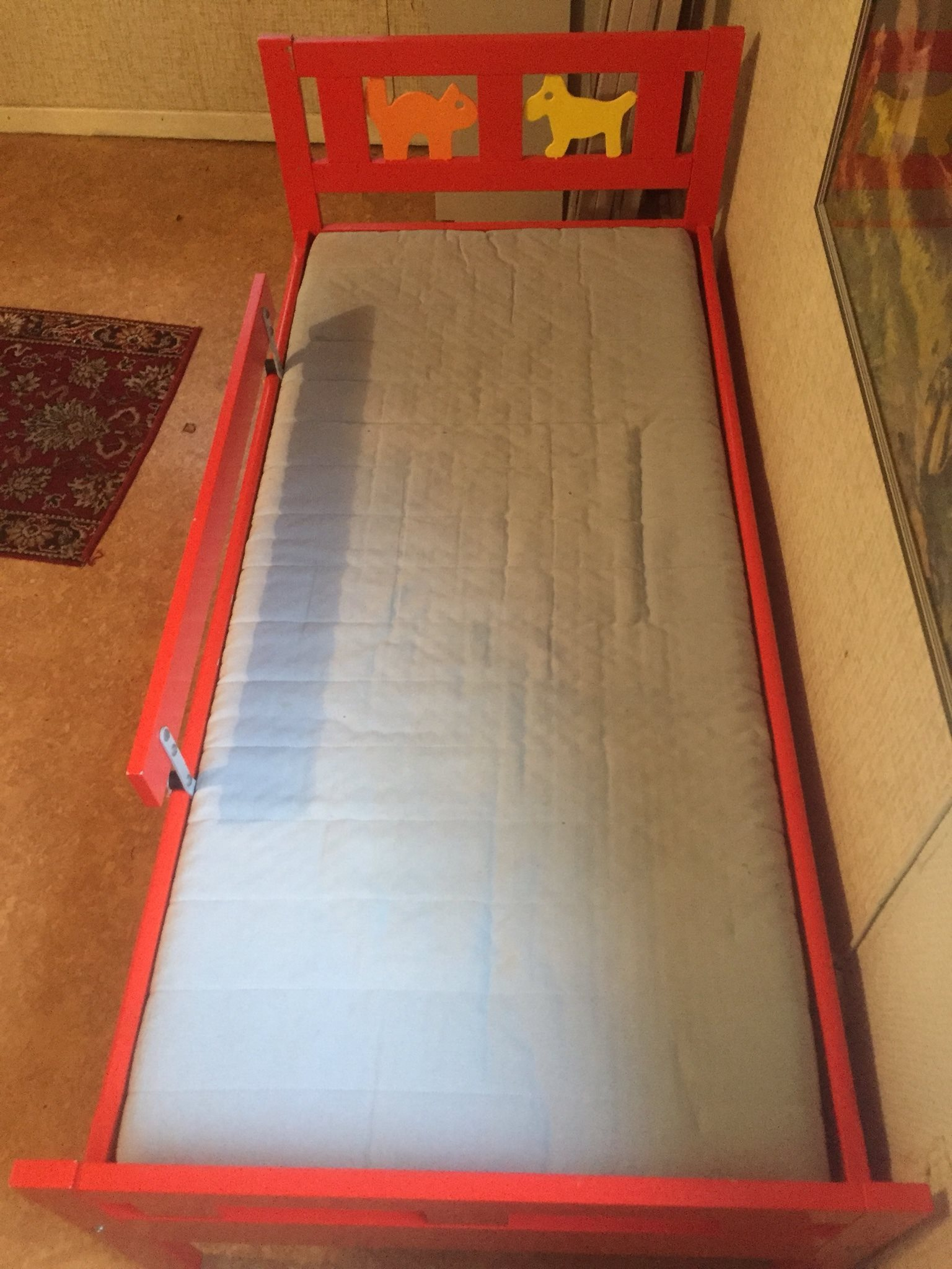 ikea säng kritter