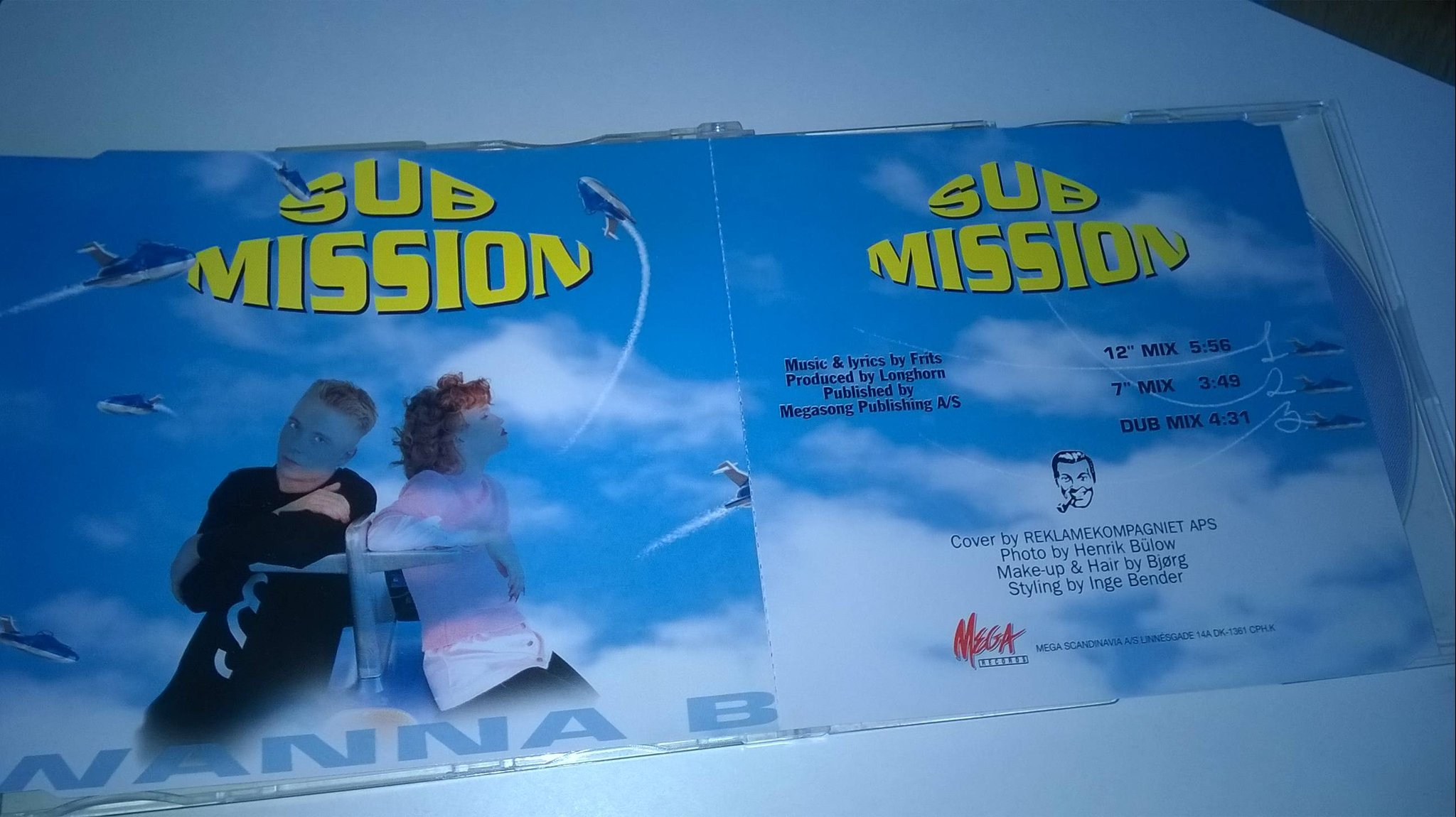 Submission - Wanna B, CD, Maxi-Single