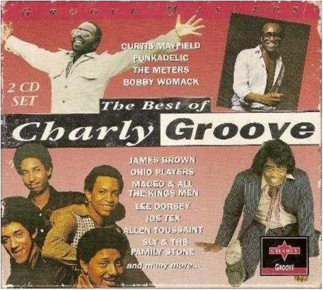 The best of Charly groove - Curtis Mayfield/Joe Tex -2 cdbox