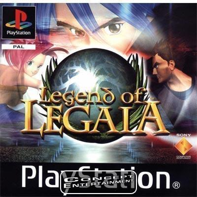 LEGEND OF LEGAIA (komplett) till Sony Playstation, PS1