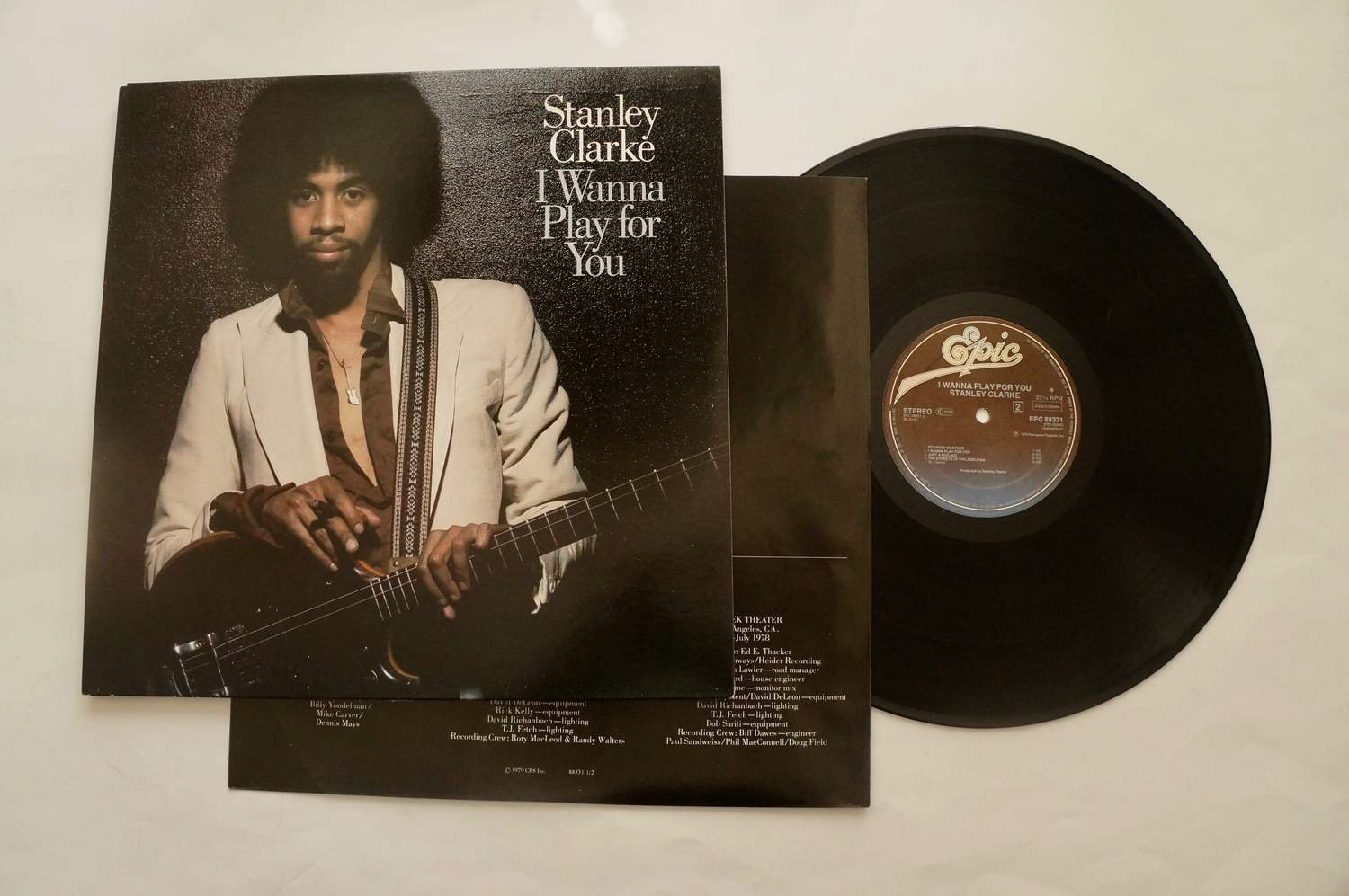 ** Stanley Clarke ?– I Wanna Play For You **
