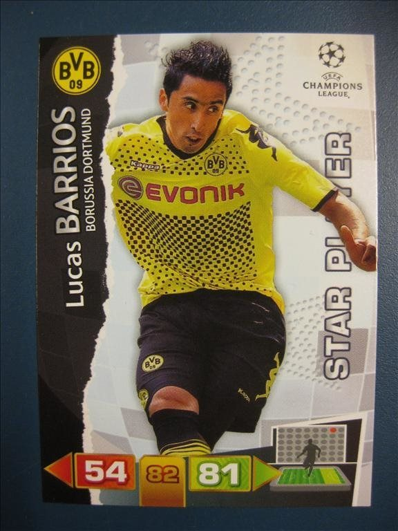 LUCAS BARRIOS  -  BORUSSIA DORTMUND  - STAR PLAYER - CHAMPIONS LEAGUE 2011-2012