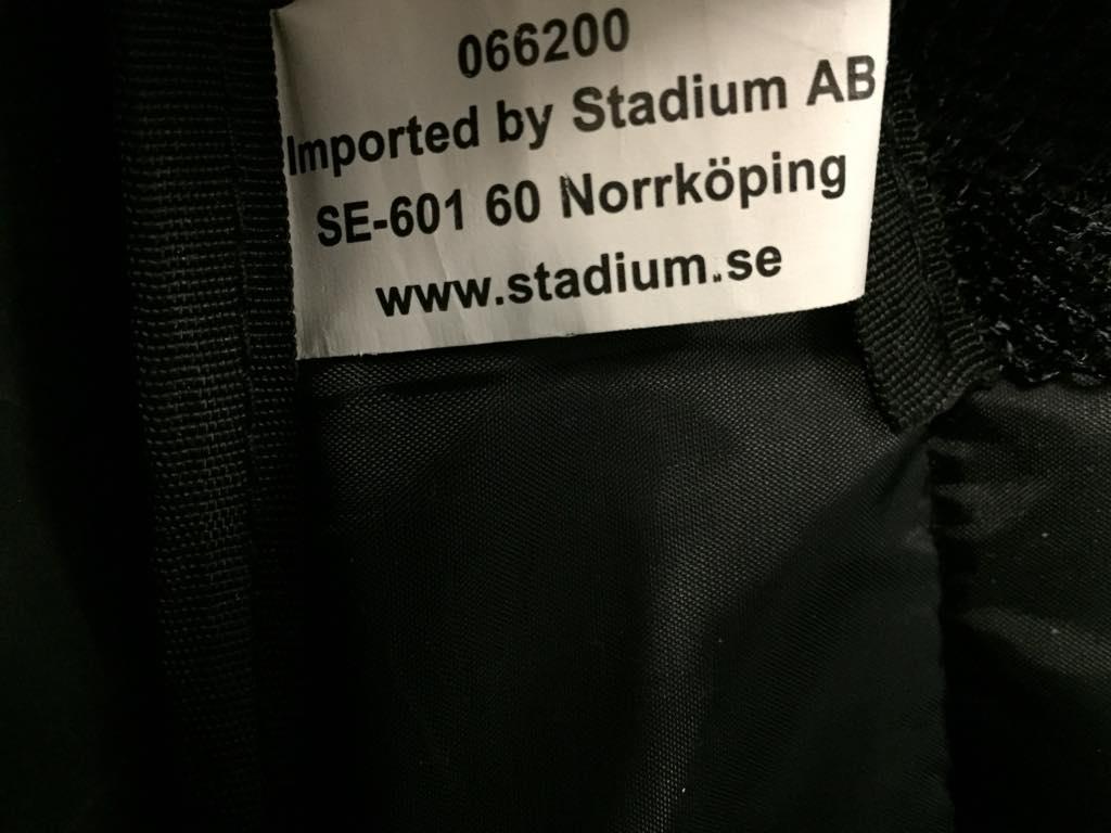 stadium ryggsäck