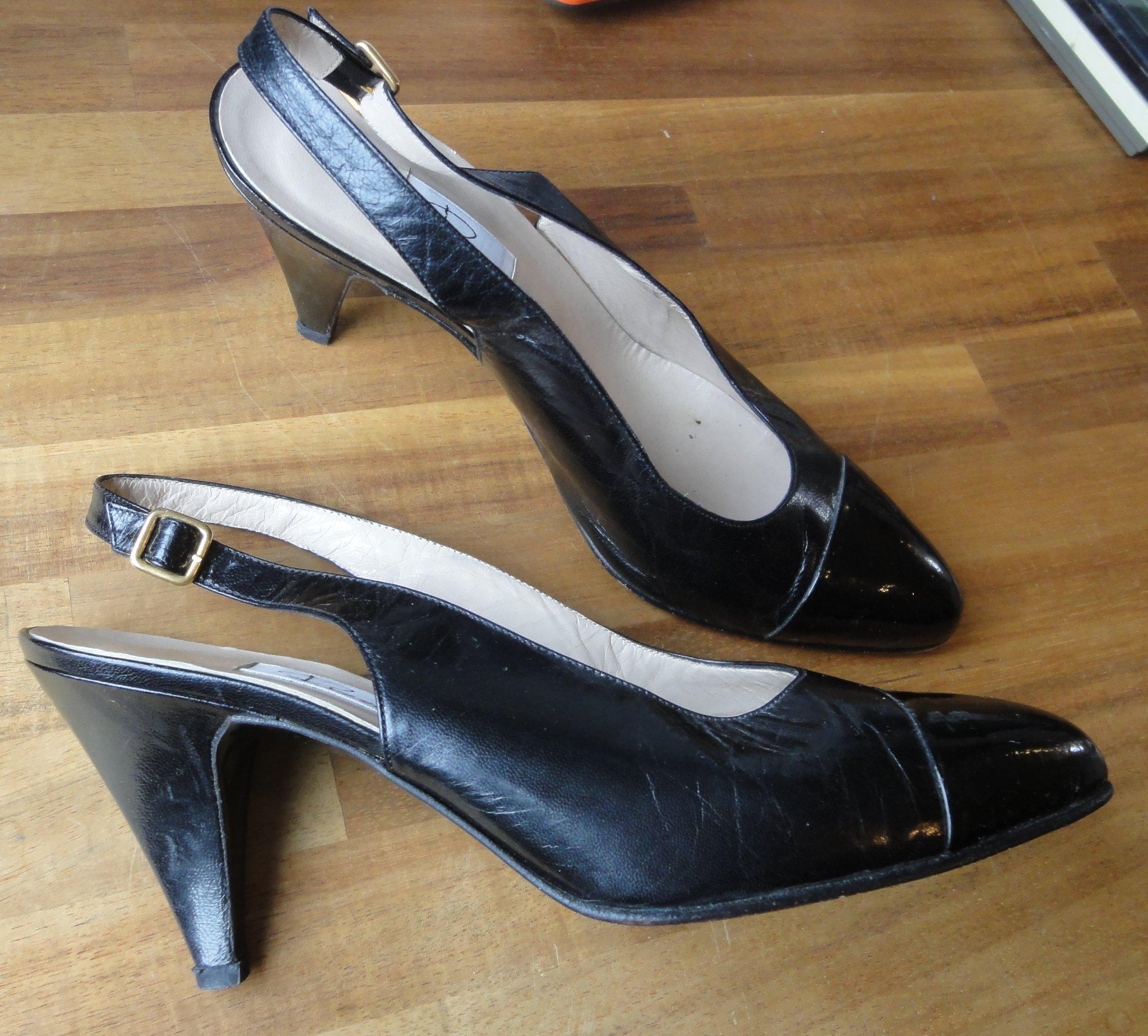 Slingbacks från Rizzo, klackar, skor, sandalett.. (375525808
