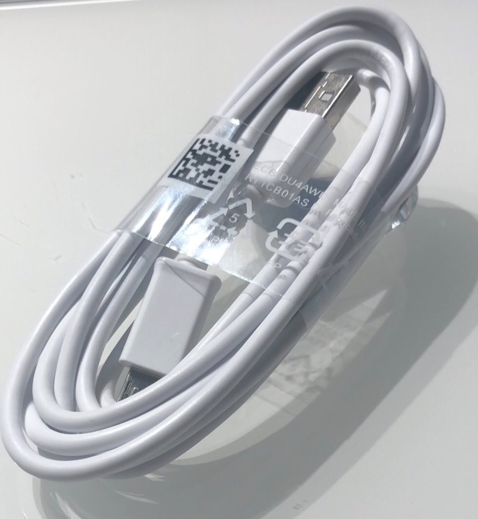 2 Meter Micro USB laddare Samsung , Android mobiler