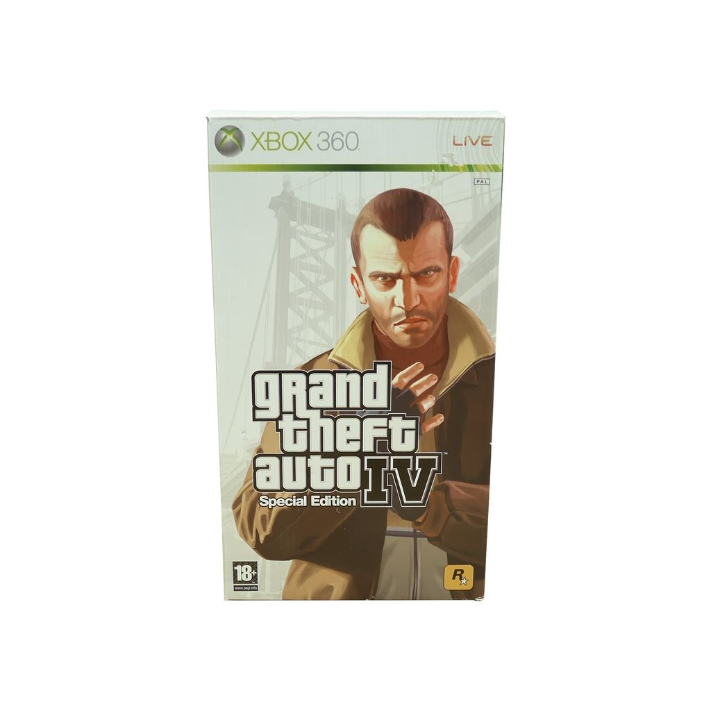 Grand Theft Auto IV: Special Edition (360)