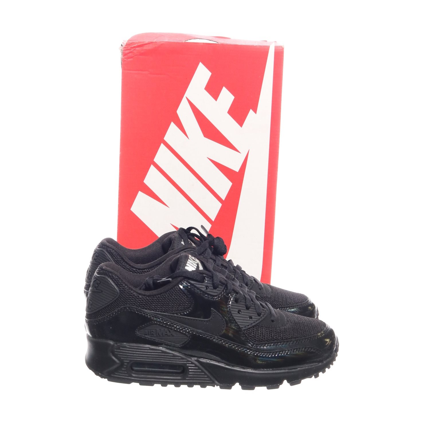 new style 1a460 39edd Nike, Sneakers, Strl  36.5, Wmns Air Max 90 Prem, Svart
