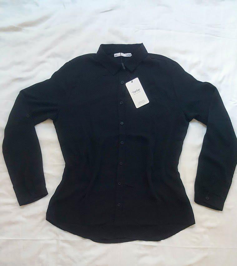 Helt ny snygg svart dam skjorta (340910663) ᐈ Köp på Tradera 6d22d80bbd9b7