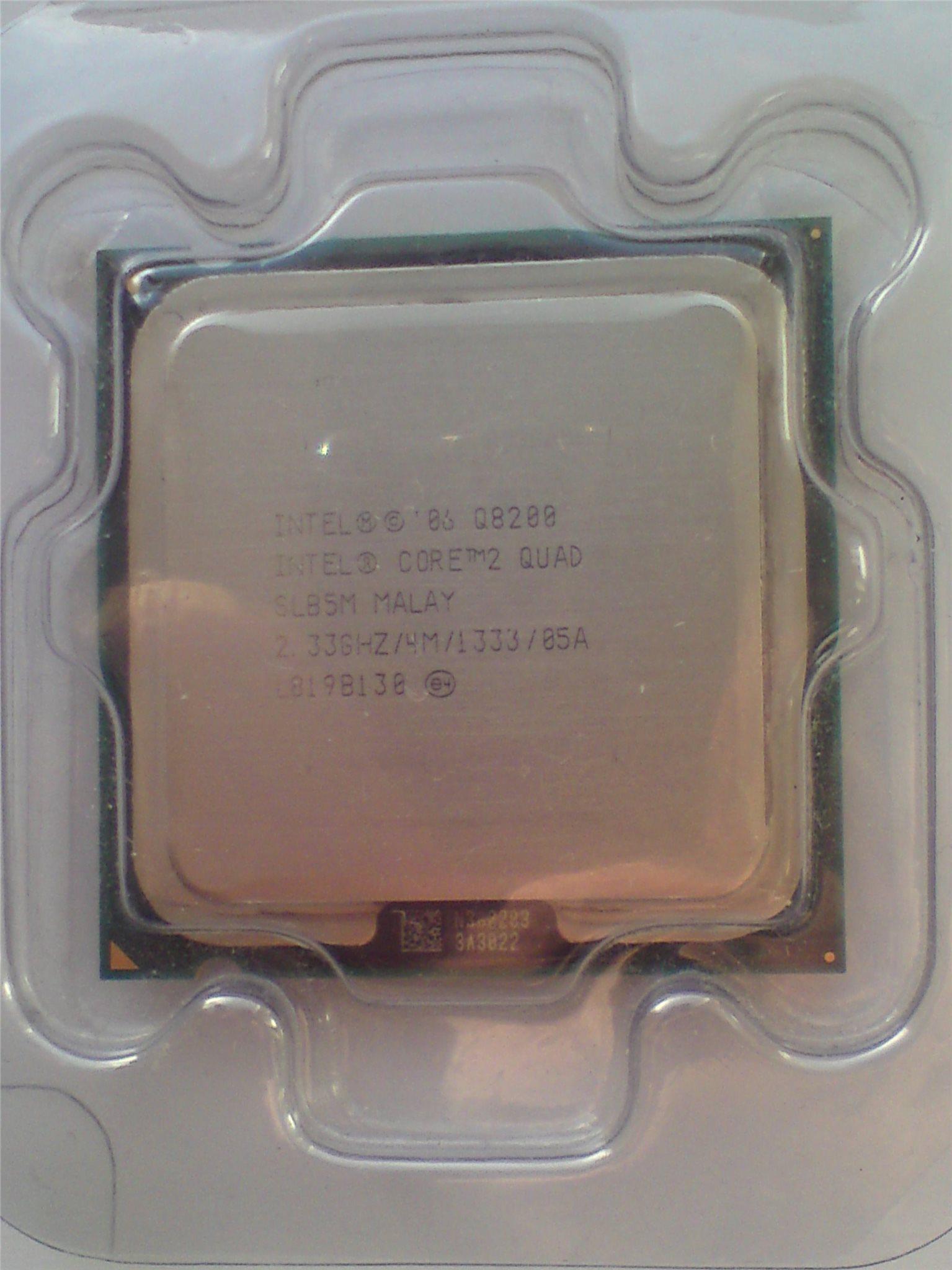 Intel Core 2 Quad Processor Q8200 1333 Mhz Fsb P Vriga Procesor Soket 775