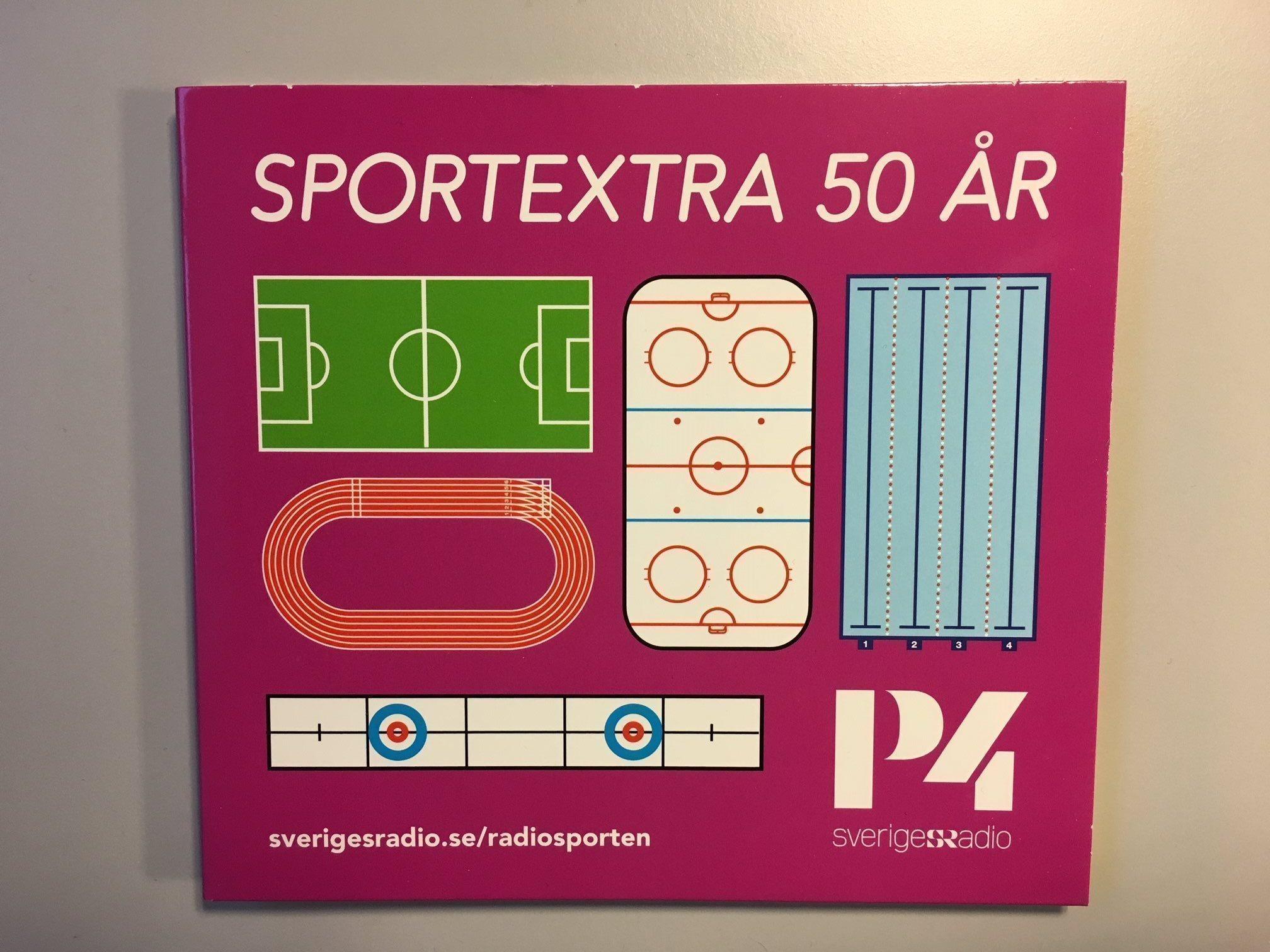 sportextra 50 år Sportextra CD   Radiosporten P4 Sveriges Radio .. (309762739) ᐈ  sportextra 50 år