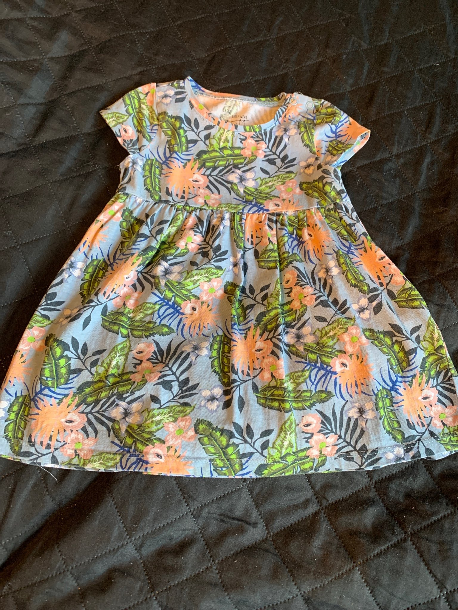 En Creme - Shift-klänning med lång ärm, spets och sammet