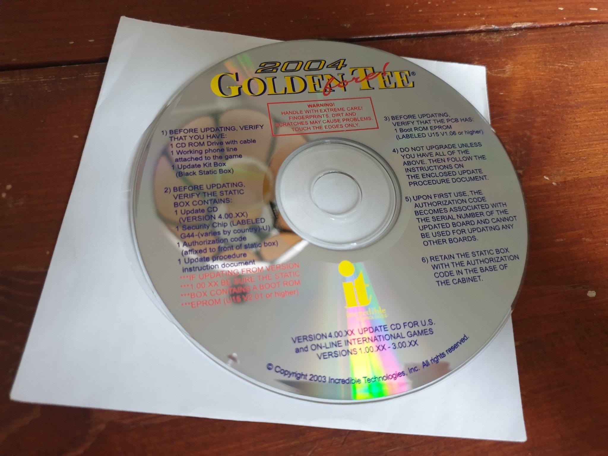 golden tee rom