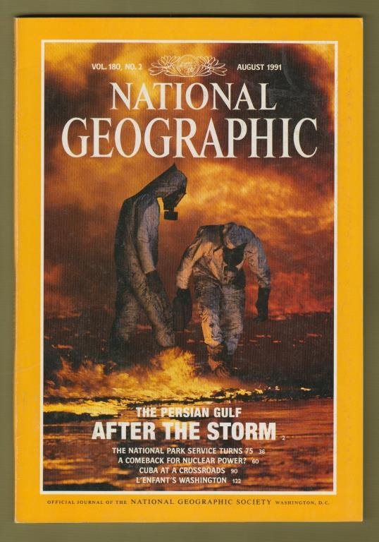 National Geographic, August 1991.