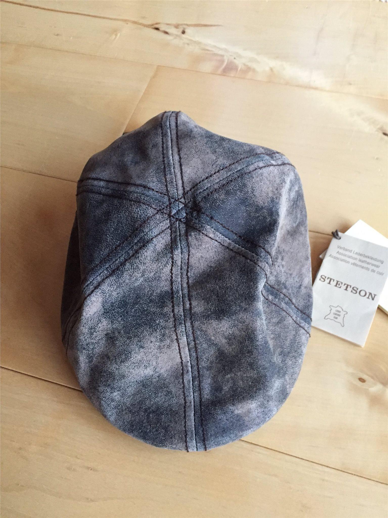 STETSON Texas pig skin sportkeps flat cap skinn (342975077) ᐈ Köp ... ebb6a95d3825b