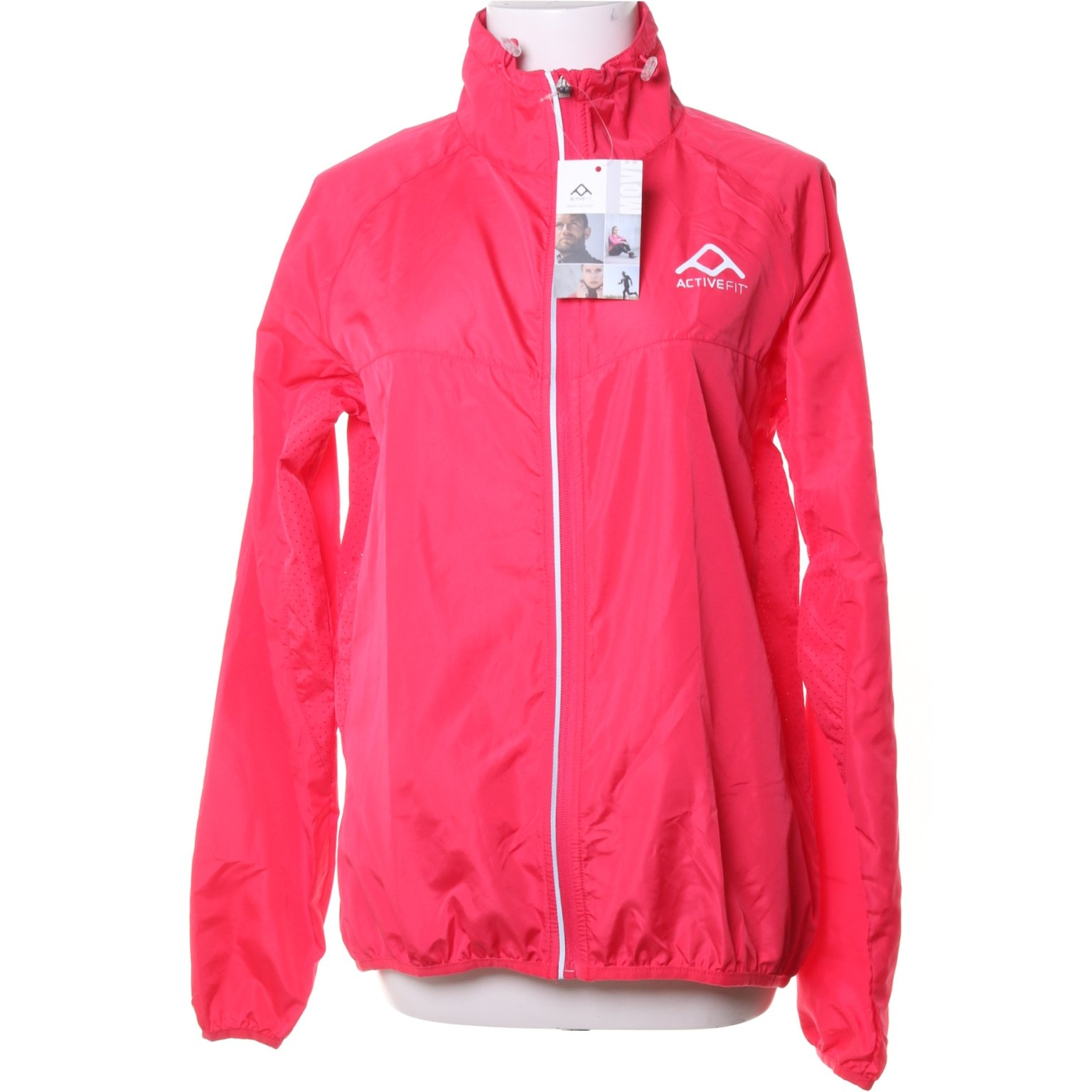 Active Fit, Vindjacka, Strl: L, ACTIVE FIT RUNNING JACKET, Rosa